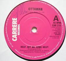 "OTTAWAN - Help Get Me Some Help - Ex Con 7"" Single"