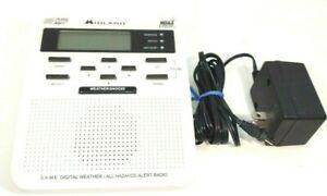 Midland S.A.M.E. Digital Weather/Hazard Alert Monitor MODEL WR-100