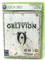 Xbox 360 The Elder Scrolls IV Oblivion Used Tested Works with Booklet