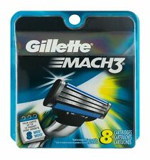 Gillette Mach3 Men's Razor Blade Cartridges Refills 8 Count (Pack of 9)