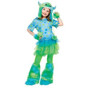 Fun World Big Girls' Monster Miss Costume | 114962