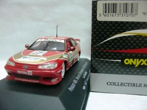 WOW EXTREMELY RARE Peugeot 406 17 Brookes Brands Hatch BTCC 1997-1:43 Onyx-Spark