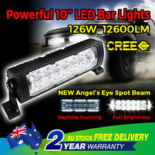 10 inch 126W LED CREE 5D LENS LED Light Bar Spot Work 4WD OFFROAD Boat Driving