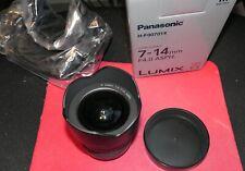 Panasonic Lumix G Vario 7-14mm f/4 Ae Aspherical Af Ed Lens - Black