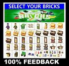 WOOLWORTHS BRICKS - SELECT YOUR PACK - Build Your Woolies Supermarket Store