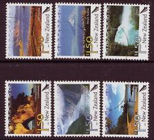 NEW ZEALAND 2006 SCENIC DEFINITIVES SET OF 6 FINE USED