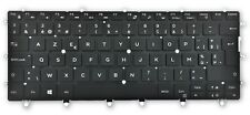 Genuine Dell XPS 13 9365 2-In-1 Belgium Layout AZERTY Backlit Keyboard X4GMK