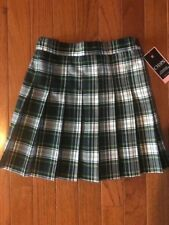 Nwt'S Girl's Chaps Plaid Uniform Skirt~Size 6 Regular~Approved School Wear~New!
