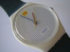"""SWATCH GENT """"dotted SWISS BLUE"""""""