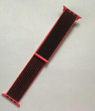 Genuine Apple Watch NIKE Sport Loop Band Bright Crimson / Black 38mm / 40mm