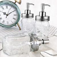 Premium Anti Rust Stainless Steel for Mason Jar Soap Lotion Dispenser Lids Pumps
