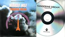 TANGERINE DREAM Miracle Mile OST 2018 UK 11-trk promo test CD