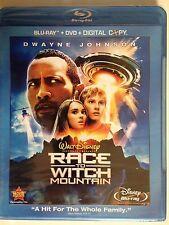 Race to Witch Mountain (Blu-ray/DVD, 2009,3-Disc Set)w/ digital copy(NEW/SEALED)