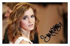 EMMA WATSON AUTOGRAPHED SIGNED A4 PP POSTER PHOTO 2