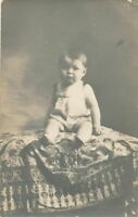 Baby Real Photo Postcard rppc