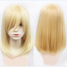 Attack on Titan Krista Lenz Christa Blonde Wig Kyojin Renz Cosplay Wigs E127