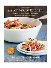 The Longevity Kitchen: Satisfying Big-Flavor Recipes Featuring ... Free Shipping