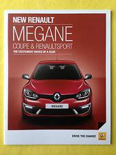 Renault Megane Coupe Sport RenaultSport brochure sales catalogue June 2014 MINT