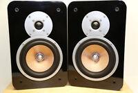 Teufel Ultima 20 Stereo Regal-Lautsprecher Sound Bassrefle (1Paar) Guten Zustand