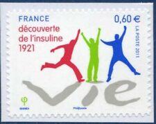 TIMBRE FRANCE AUTOADHESIF 2011 N° 0635 NEUF** Découverte de l'Insuline en 1921