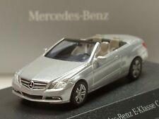 Busch Mercedes E-Klasse Cabrio, silber - 2427 - 1:87