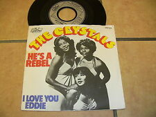 3/1 The Crystals - He's a Rebel - I Love you Eddie
