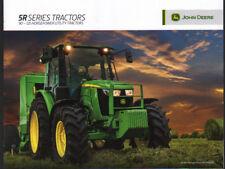 """John Deere """"5R Series"""" 90 - 125hp Utility Tractor Brochure Leaflet"""