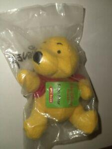 Disney Winnie the Pooh Bear Mini Bean toy NIB Kellogg's 2001