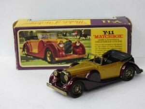 MATCHBOX LESNEY 1972 MODELS OF YESTERYEAR RARE BOXED 1938 LAGONDA DH COUPE Y11-3