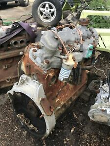 Land Rover 6cyl 2.6 Petrol Engine For Rebuild Or Parts