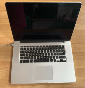 "Damaged Apple MacBook Pro 15"" Retina i7 2Ghz 8GB Late 2013 Model/Iris Pro/Ref926"