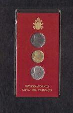 1988 Vaticano serie Papa Giovanni Paolo II Karol Wojtyla Lire L. 10 - 20 e 50