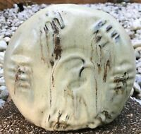 Vintage Ceramic Stoneware Studio Pottery Vase Planter Mid Century Modern Signed