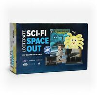 Lootcrate Sci-Fi Space Out Pop Culture Collectibles: Star Wars X Files Alien...