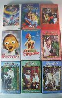 8 VHS Kassetten - Märchen Filme Froschkönig Frau Holle Pinocchio ect. MÄRCHEN 8