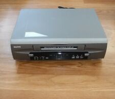 Sanyo Vwm-275 Vcr Vhs Video Cassette Player Recorder Vintage Tested Works Great