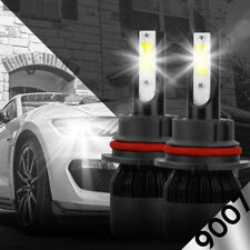 NEW 9007 HB5 8000K Ice Blue 8000LM CREE LED Headlight Bulbs Kit High & Low Beam