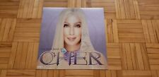 """Autographed / Signed Cher """"The Very Best Of"""" original promo poster/flat photo"""
