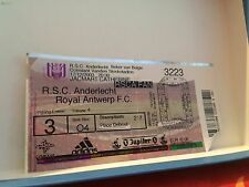 Football Ticket - UEFA - RSCA Anderlecht - Royal Antwerp - 2003