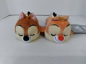 "NEW SET OF 2 Disney Chip and Dale PLUSH Mini Cuddleez 6""  FREE SHIPPING"