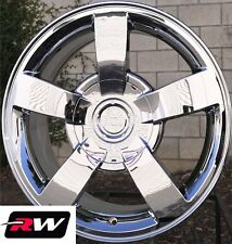 "22"" inch 22 x10"" Wheels for Chevy Avalanche Chrome Rims Silverado SS"