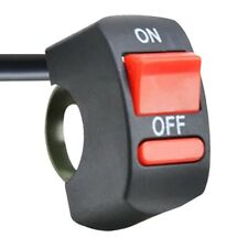 On off switch motorcycle handlebar