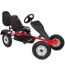 CART Coche de juguete con pedales Kart 2 asientos Coche de pedales rojo NUEVO