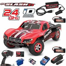Traxxas 1/16 Slash 4X4 Short Course Truck RTR #25 w/TQ / Adapter / Extra Battery