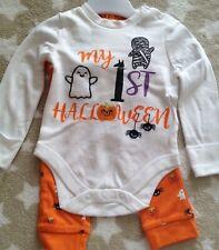 Baby Halloween Bodysuit long sleeved & Leggings 6-9 months