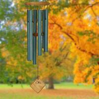 """Woodstock CHIMES OF PLUTO WIND CHIMES, VERDIGRIS FINISH, 27"""" Overall Length  #dm"""