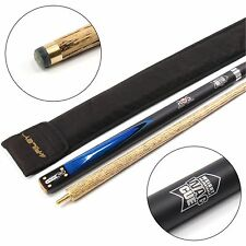 Riley Ronnie O`Sullivan WAC Matching Ash Shaft 2pc Snooker Cue & Sleeve Case