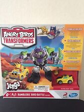 Angry Birds Transformers Jenga Board game 'Battle Birds Bumblebee,   Hasbro new