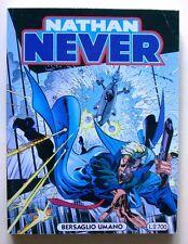 """NATHAN NEVER N.52 """"Bersaglio umano"""" [fumetti, Sergio Bonelli editore]"""