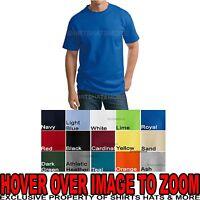 P&C MENS Tall T-Shirt LT XLT 2XLT 3XLT 4XLT 100% Ultra Cotton Tees NEW